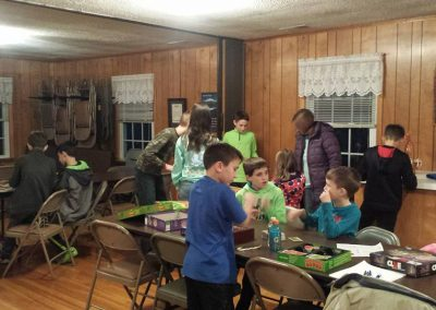 Youth soup and game night
