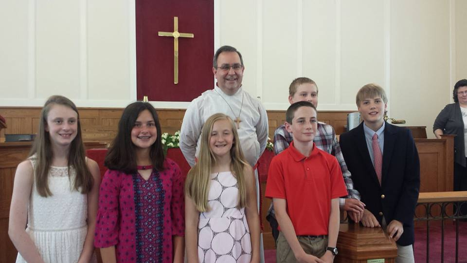 pastor with kids